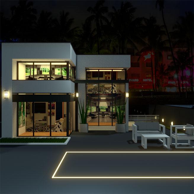 poolabdeckung war gestern versenkbarer pool spart platz. Black Bedroom Furniture Sets. Home Design Ideas