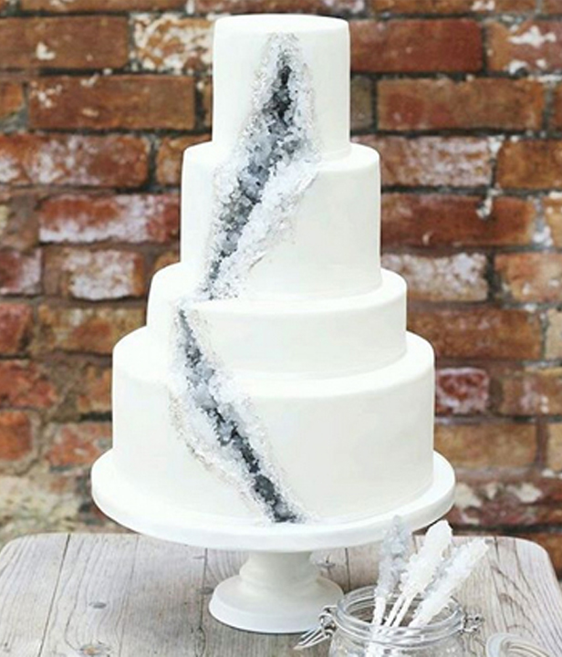 Geode Cakes: Kristalle zum Essen