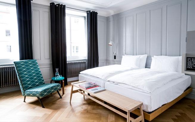 Marktgasse hotel z rich neues design hotel inmitten der for Design hotel franken