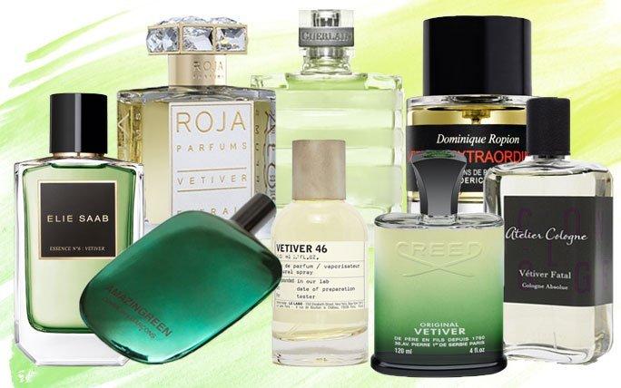 Vetiver Parfums für Männer, die Frauen sich gerne mal ausleihen!