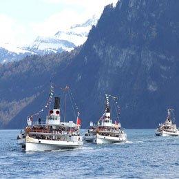 Nostalgisch unterwegs auf Schweizer Seen