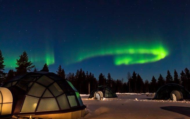Jetzt Polarlichter bestaunen