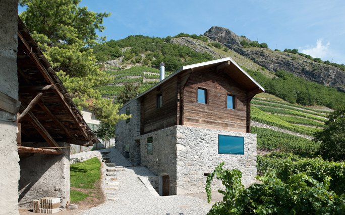 Traumhäuser alpen maison germanier in vétroz