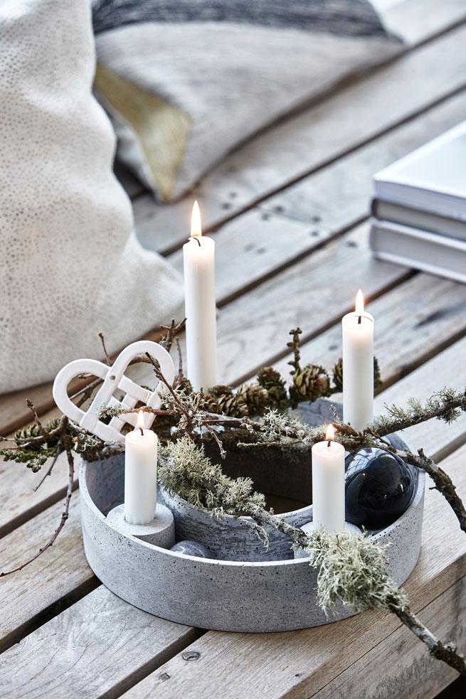 adventskranz mal anders sch ne und moderne adventskranz ideen. Black Bedroom Furniture Sets. Home Design Ideas