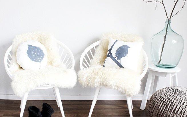 kissen selber gestalten diy anleitung kissenbezug bedrucken. Black Bedroom Furniture Sets. Home Design Ideas