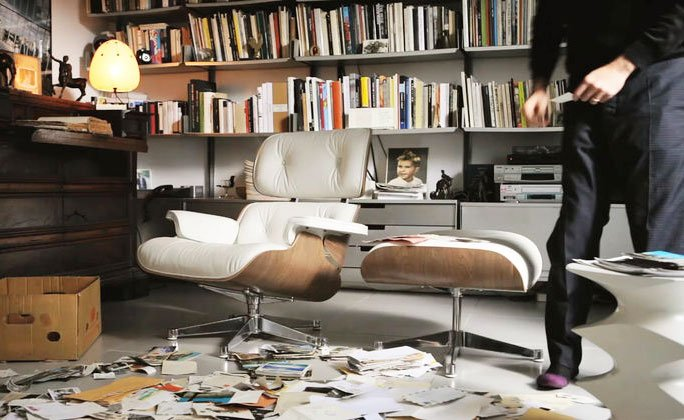 der klassiker lesesessel von vitra. Black Bedroom Furniture Sets. Home Design Ideas