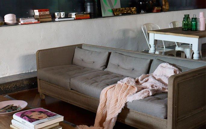 wohnzimmer retro style:Vintage-Style: Wohnzimmer mit Vintage-Möbeln