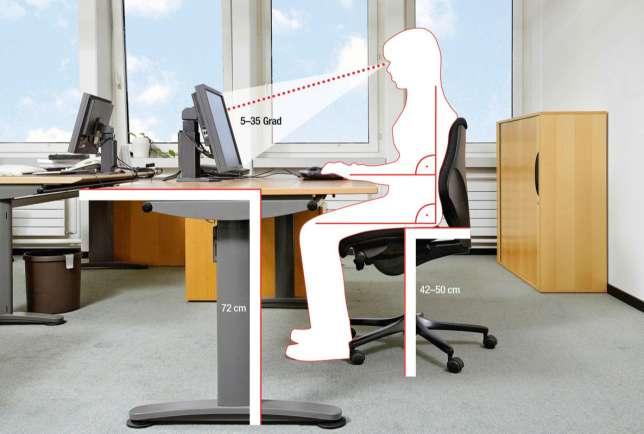 ergonomie am arbeitsplatz gesunde und stilvolle m bel. Black Bedroom Furniture Sets. Home Design Ideas