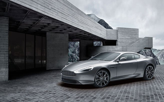 Aston Martin DB9 GT: James Bond-Edition