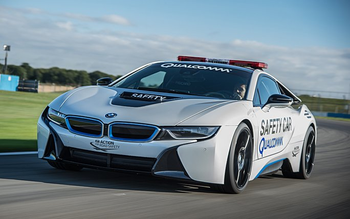 BMW i8 als Safety-Car in der Formula E
