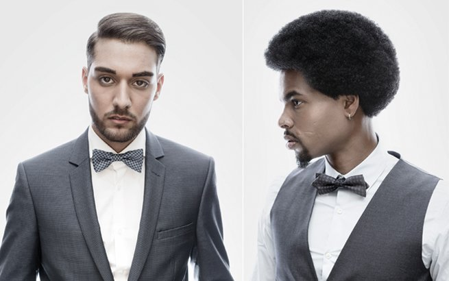 Herrenfrisuren von Eddaine Bellaid aus der Kollektion «sophisticated homme 16/17»