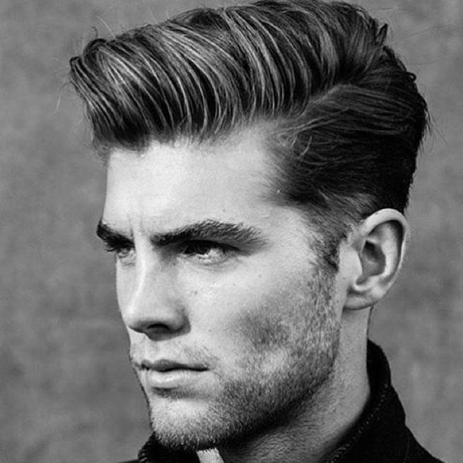 Herren frisuren dichtes haar – Mittellange haare