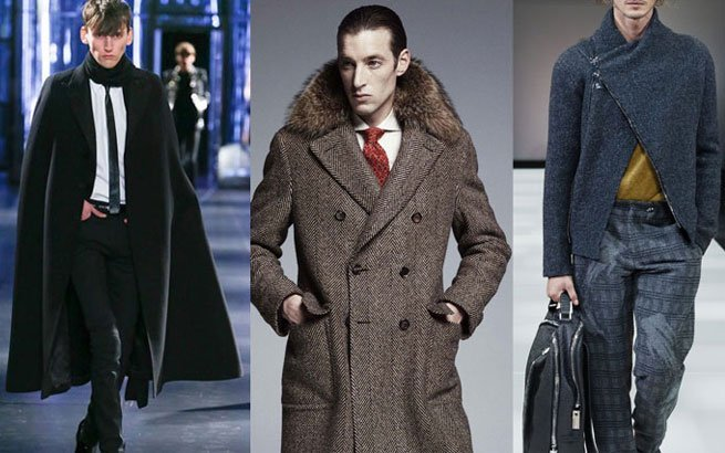 Herrenmäntel Trends: Herbst/Winter 2015