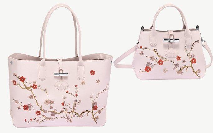 Zarte Kirschblüte von Longchamp