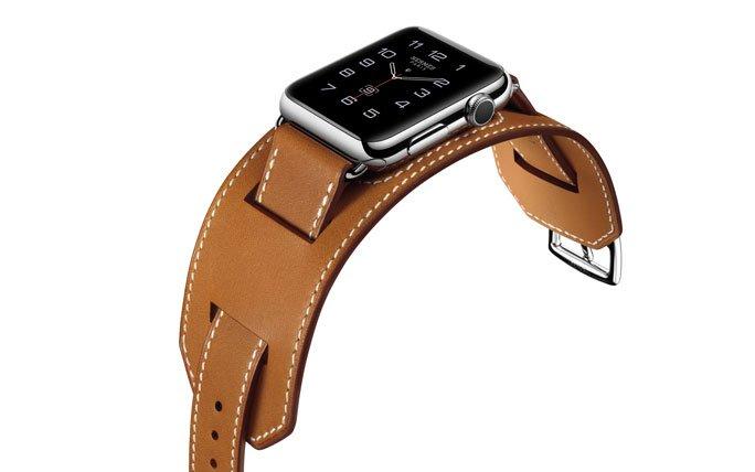 die apple watch herm s mit cuff armband. Black Bedroom Furniture Sets. Home Design Ideas