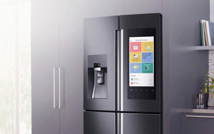 Kühlschrank Samsung : Samsung socken sauber kuchen fertig kühlschrank voll golem