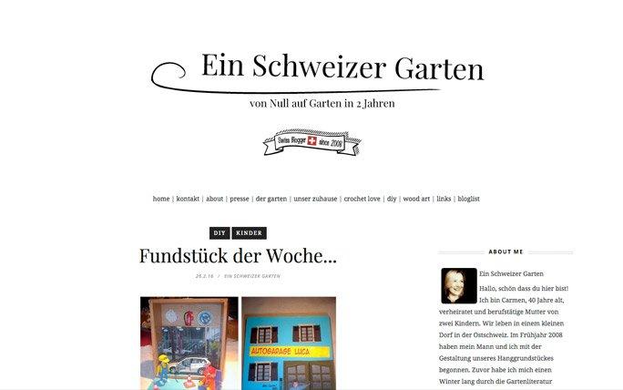 Gartenblogs Ein Schweizer Garten