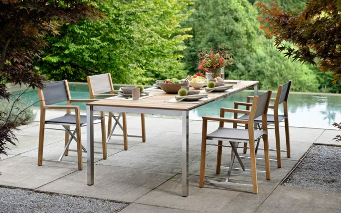 Schweizer Anbieter von Gartenmöbeln: Hunn