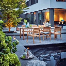 Garten und Terrassen gestalten