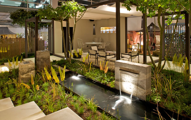 Die Giardina Gartenmesse 2015 Zeigt Neue Trends Für Das Leben Im Garten:  Mobile Küchen Und