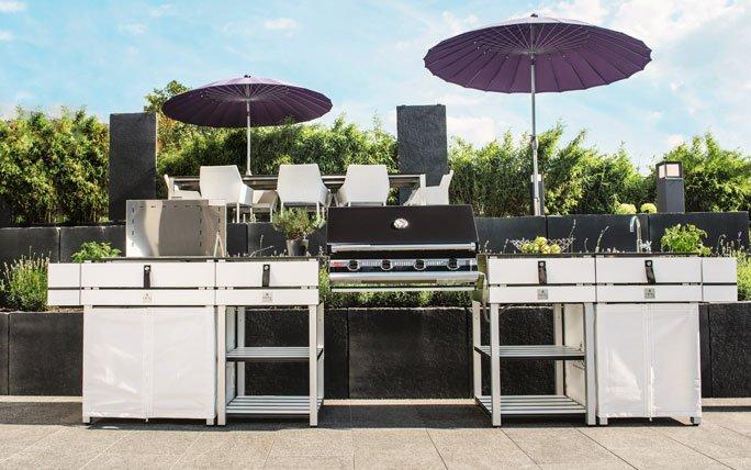 Outdoor Küche Rollbar : Anbieter von outdoor küchen egli grün