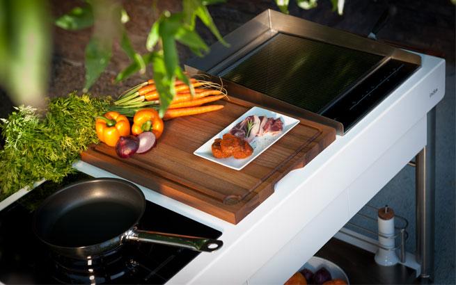Outdoorküche Zubehör Schweiz : Outdoor küche: die schönsten modelle für aussenküchen
