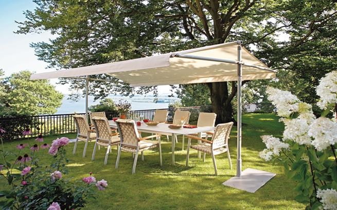sonnenschutz f r garten und terrasse die besten anbieter. Black Bedroom Furniture Sets. Home Design Ideas