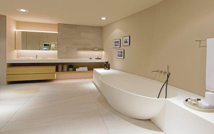 wellness zu hause keramikand. Black Bedroom Furniture Sets. Home Design Ideas