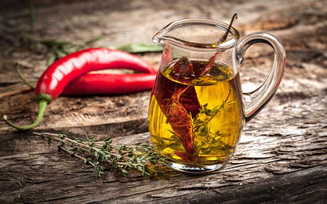 Würziger Geschmacksverstärker Chiliöl Selbst Gemacht