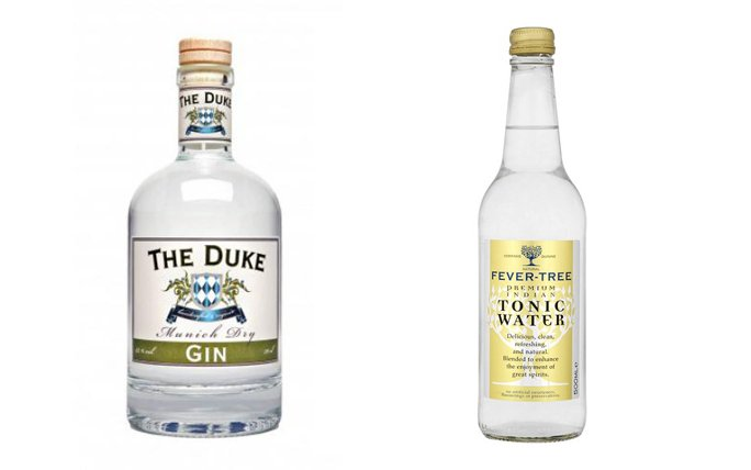 The Duke Munich Dry Gin & Fever Tree Indian Tonic Water