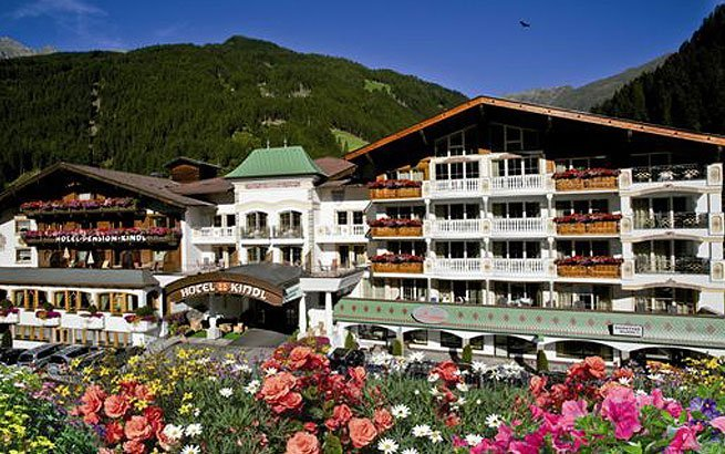 Das Alpenhotel Kindl in Neustift im Stubaital