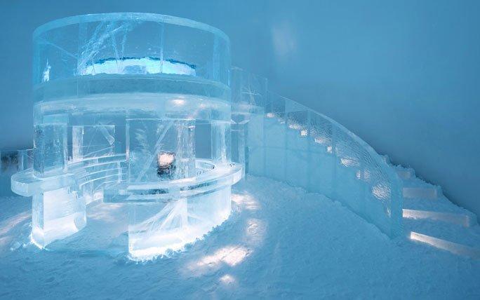 Eishotel Schweden: Icebar des Icehotel