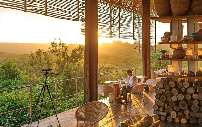 Safari Lodge Lebombo in Singita, Südafrika