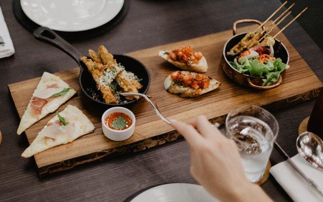 Gourmet-Restaurants in Zürich: Gedeckter Tisch