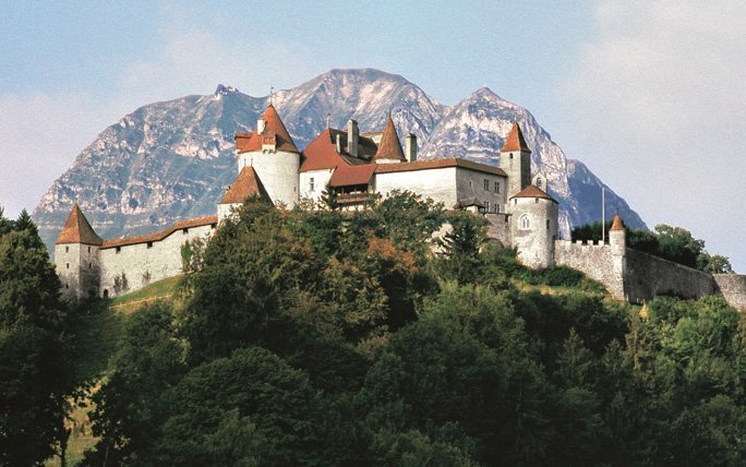 Im Herzen von La Gruyère – Schloss Greyerz