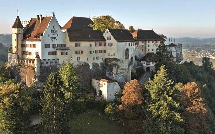 Höhenflug auf Schloss Lenzburg