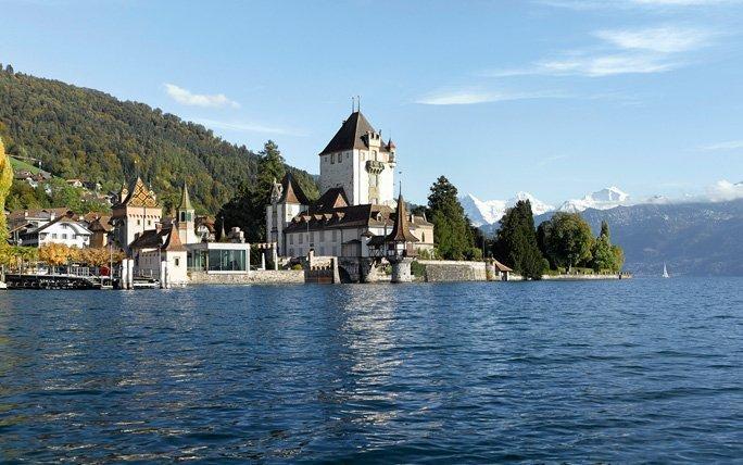 Wasserschloss Oberhofen am Thunersee