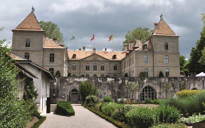 Klassizismus im Château de Prangins