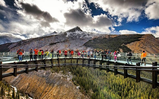 Glacier Skywalk in Canada