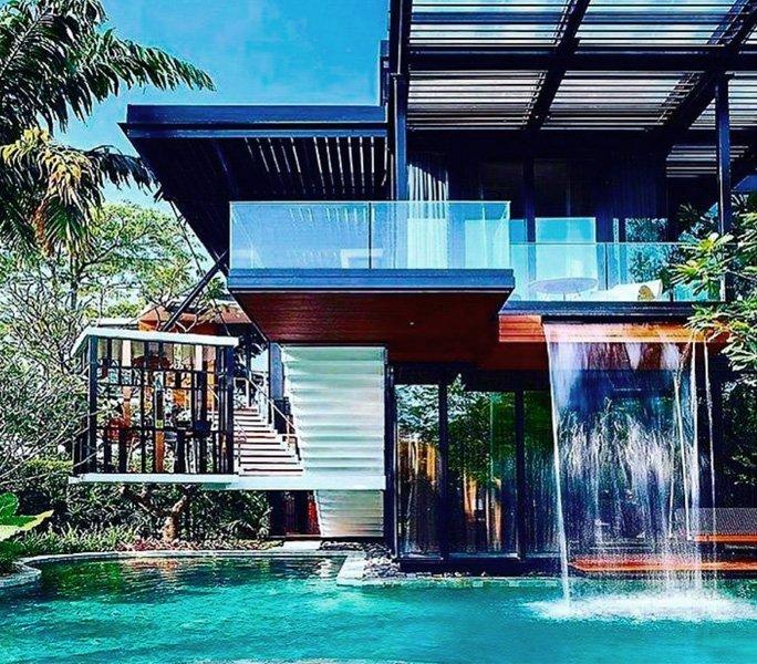 Nichts ist unmöglich – der Wasserfall-Pool
