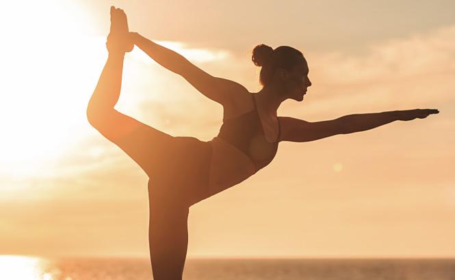 Yoga am Strand: Fitness-Ferien boomen