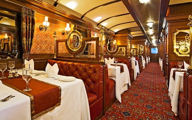 Im Venice Simplon Orient Express durch Tschechien, London, Paris, Istanbul und Stockholm