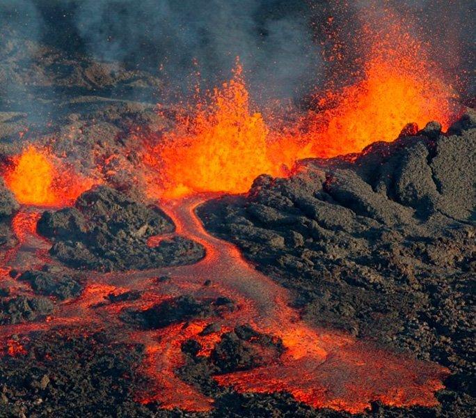 Das Feuer der Insel