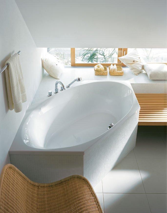 Badewanne kaufen die besten schweizer anbieter - Badewanne mit ablage ...