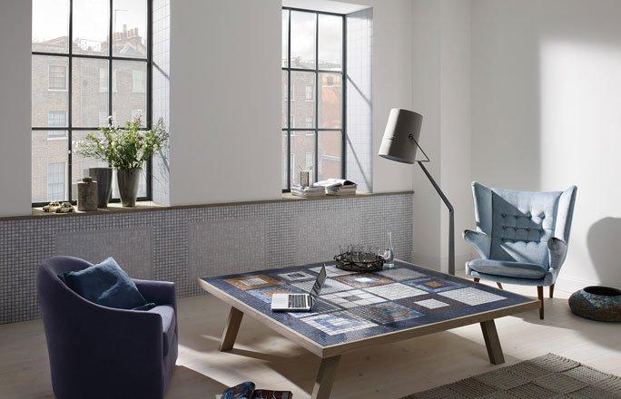 Tisch Mit Mosaikfliesen.Plättli Für Den Wohnbereich Mosaikfliesen