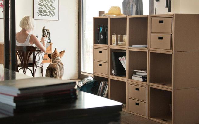 Kartonmöbel: Designerstücke aus Pappe