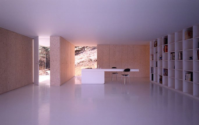 Innenansicht Furniture House, Japan