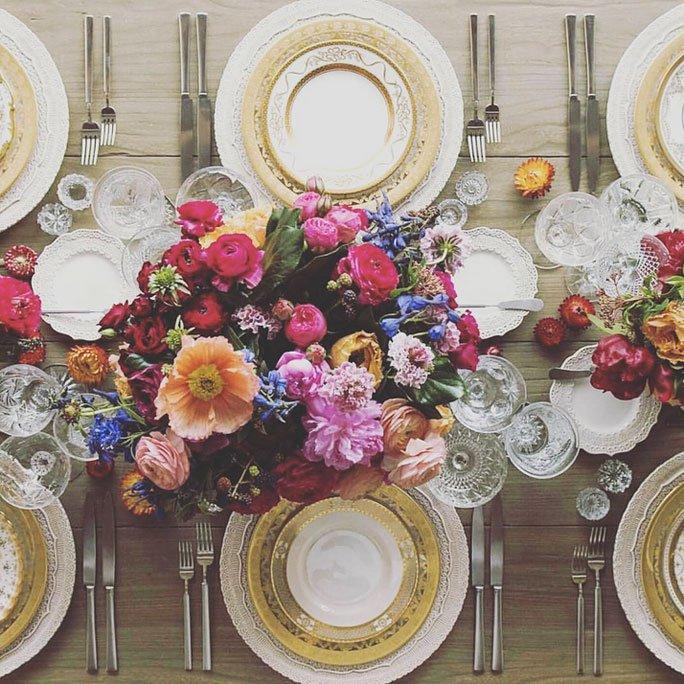Festliche Tischdeko Fur Eine Sommer Hochzeit Mit Centerpieces
