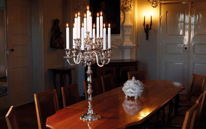 Silberbesteck und Tafelsilber: Ausgewählte Einzelstücke
