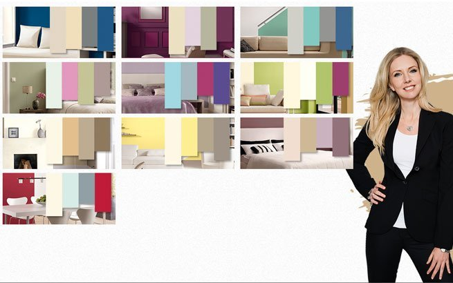wandfarben von rosa bis gr n oder gold designerin jette joop mags bunt. Black Bedroom Furniture Sets. Home Design Ideas